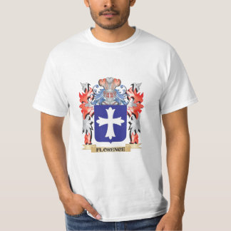 Florence Coat of Arms - Family Crest T-Shirt