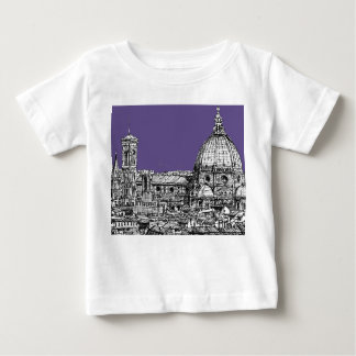 Florence dome in lilac tee shirts