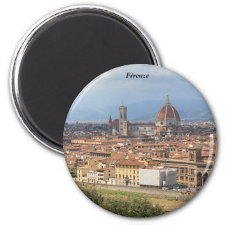 Florence Duomo 2 Inch Round Magnet