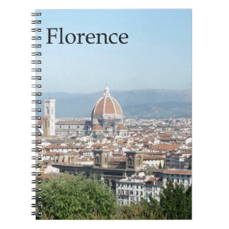 Florence Duomo from Michelangelo Square (new-St.K) Notebook