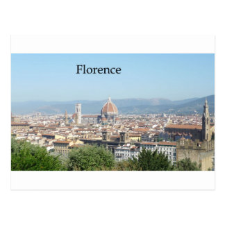 Florence Duomo from Michelangelo Square (new-St.K) Postcard