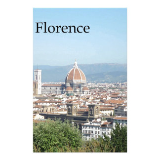 Florence Duomo from Michelangelo Square (new-St.K) Stationery