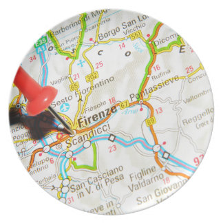 Florence, Firenze, Italy Plate