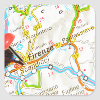 Florence, Firenze, Italy Square Sticker