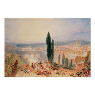Florence from near San Miniato, 1828 Poster