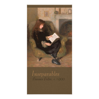 Florence Fuller Inseparables CC0301 Bookmark Photo Card