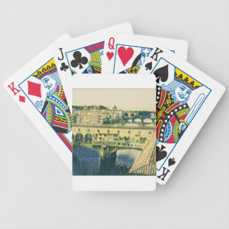 Florence in Art Bicycle Playing Cards