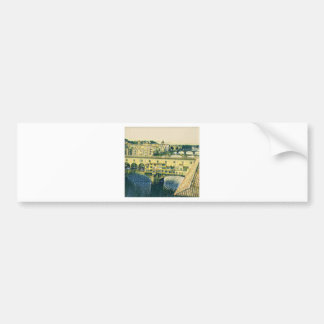 Florence in Art Bumper Sticker