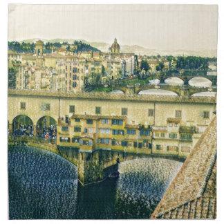 Florence in Art Napkin