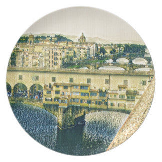 Florence in Art Plate