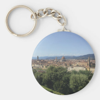Florence In Panoramic Keychain