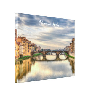 "Florence, Italy 14"" x 11"", 1.5"", Single Canvas Print"
