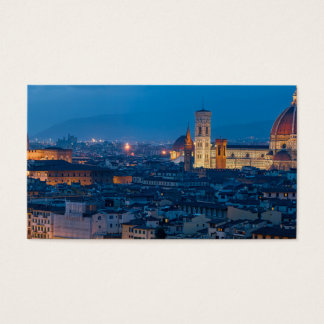 Florence Italy Business Card