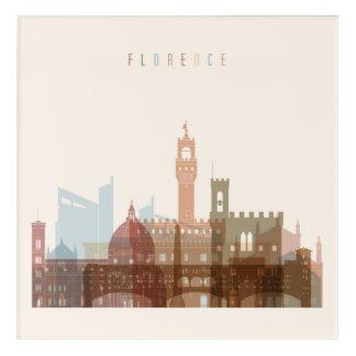 Florence, Italy | City Skyline Acrylic Print