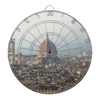 Florence Italy Cityscape Dartboard