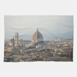Florence Italy Cityscape Kitchen Towel