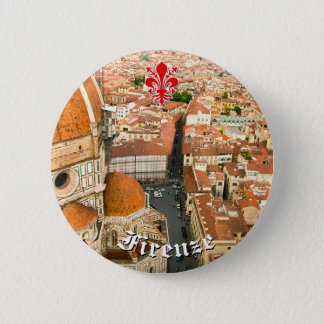 Florence, Italy (Duomo) 2 Inch Round Button