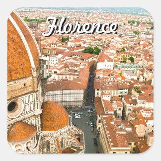 Florence, Italy (Duomo) Square Sticker