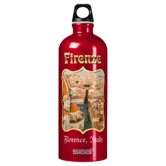 Florence, Italy - Il Duomo di Firenze Water Bottle