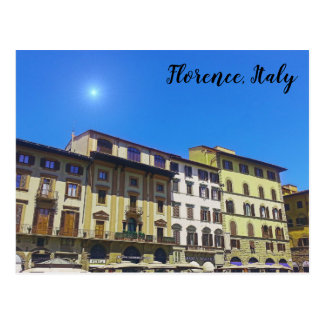 Florence Italy Postcard