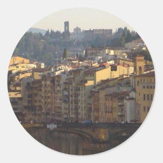 Florence, Italy Round Sticker