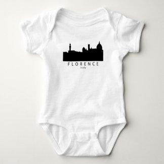 Florence Italy Skyline Baby Bodysuit