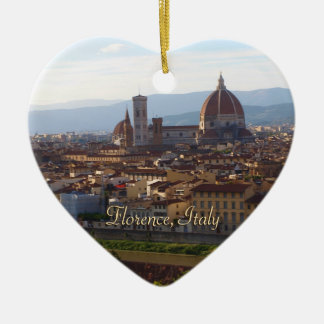 Florence Italy Travel Keepsake Ceramic Ornament