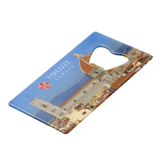Florence, Italy Wallet Bottle Opener