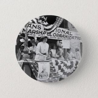Florence Jaffray Hurst Daisy Harriman Suffragette 2 Inch Round Button