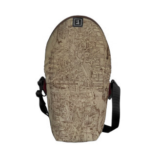 Florence, Medieval Woodcut Commuter Bags