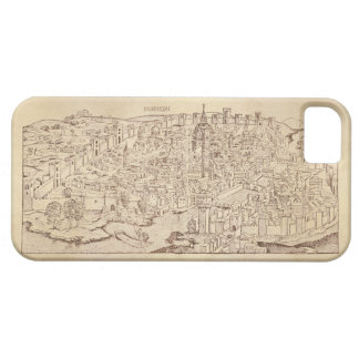 Florence, Medieval Woodcut iPhone 5 Case