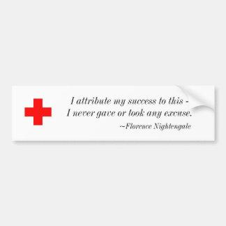 Florence Nightengale Bumper Sticker