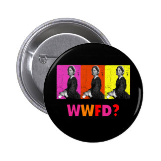 "Florence Nightengale Gifts ""WWFD?"" 2 Inch Round Button"