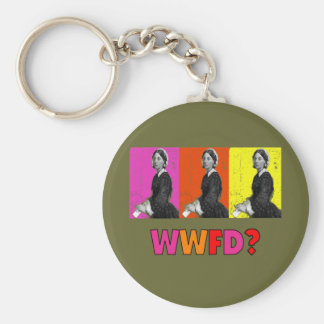 "Florence Nightengale Gifts ""WWFD?"" Key Chains"
