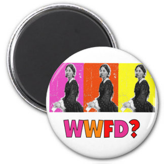 "Florence Nightengale Gifts ""WWFD?"" Magnet"