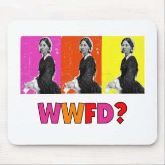 """Florence Nightengale Gifts """"WWFD?"""" Mouse Mats"""