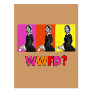 "Florence Nightengale Gifts ""WWFD?"" Post Card"