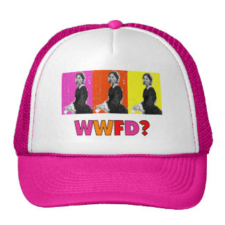 "Florence Nightengale Gifts ""WWFD?"" Trucker Hat"