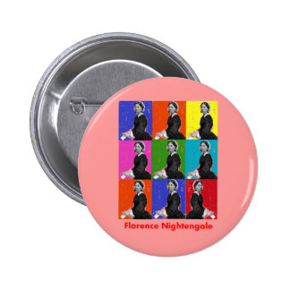 florence nightengale POPART T-Shirts & Gifts 2 Inch Round Button
