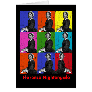 florence nightengale POPART T-Shirts & Gifts Greeting Card