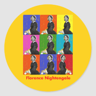 florence nightengale POPART T-Shirts Gifts Sticker