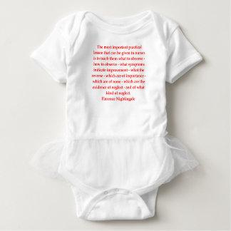 florence nightingale baby bodysuit