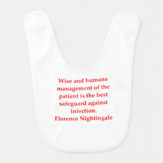 florence nightingale bib