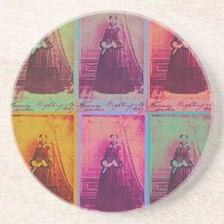 Florence Nightingale Colors Coaster