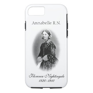 Florence Nightingale-Nurse+ Name iPhone 8/7 Case