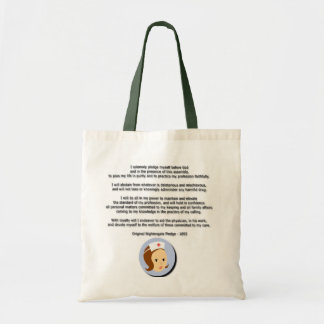 Florence Nightingale Pledge Tote Bag