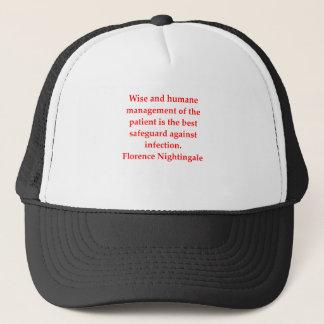 florence nightingale trucker hat