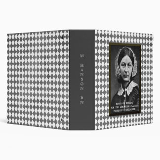Florence Nightingale Vintage Nursing School Custom Binders