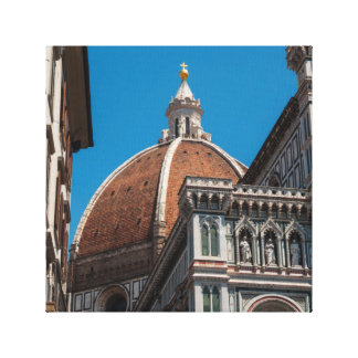 Florence or Firenze Italy Duomo Canvas Print