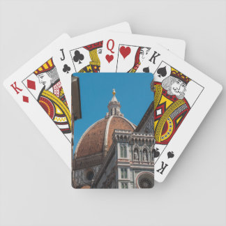 Florence or Firenze Italy Duomo Playing Cards